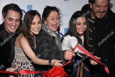 Santiago Michel, Miri Higareda, Angelica Aragon, Martha Higareda