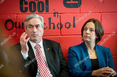 Iain Gray MSP and Scottish Labour leader Kezia Dugdale