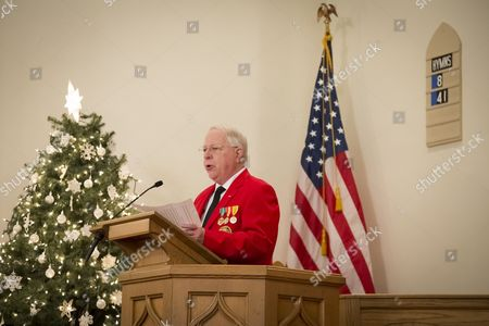 Opening remarks given by Robert Beck, Commandant of L/Cpl Robert J Slattery Detachment U.S. Marine Corps League during the memorial service held inside the First Presbyterian in Succasunna, NJ for the 2015 nationwide Wreaths Across America event. All 560 veterans graves in the combined cemetery of the First Presbyterian and the United Methodist Churches were honored with a wreath during the event that was coordinated by the Ferro Monte Chapter, National Society Daughters of the American Revolution.