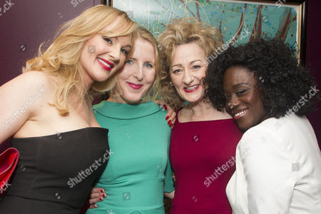 Katherine Kingsley (Mrs Marcee Dupont-Dufort), Fenella Woolgar (Valerie), Sian Thomas (Mrs Fox) and Michelle Asante (Juliette)