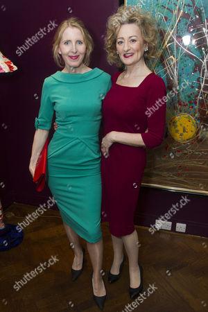 Fenella Woolgar (Valerie) and Sian Thomas (Mrs Fox)