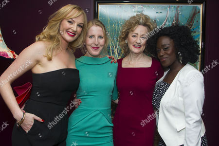 Stock Photo of Katherine Kingsley (Mrs Marcee Dupont-Dufort), Fenella Woolgar (Valerie), Sian Thomas (Mrs Fox) and Michelle Asante (Juliette)