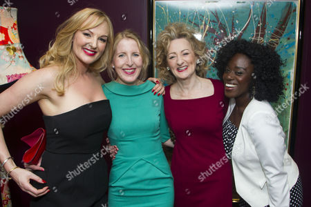 Editorial image of 'Welcome Home, Captain Fox!' play, After Party, London, Britain - 1 Mar 2016