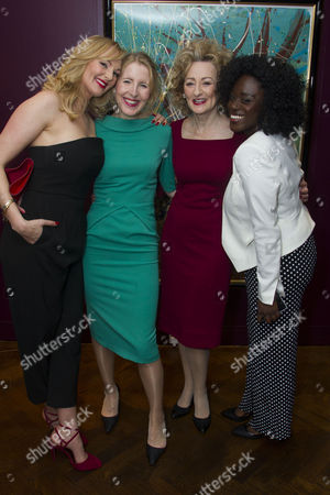 Stock Picture of Katherine Kingsley (Mrs Marcee Dupont-Dufort), Fenella Woolgar (Valerie), Sian Thomas (Mrs Fox) and Michelle Asante (Juliette)