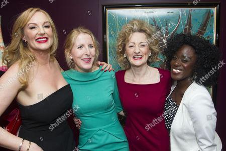 Stock Image of Katherine Kingsley (Mrs Marcee Dupont-Dufort), Fenella Woolgar (Valerie), Sian Thomas (Mrs Fox) and Michelle Asante (Juliette)