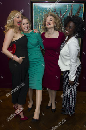 Stock Picture of Katherine Kingsley (Mrs Marcee Dupont-Dufort), Fenella Woolgar (Valerie), Sian Thomas (Mrs Fox) and Michelle Asante (Juliette)