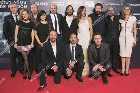 Editorial picture of 'One Hundred Years of Forgiveness' film premiere, Madrid, Spain - 01 Mar 2016