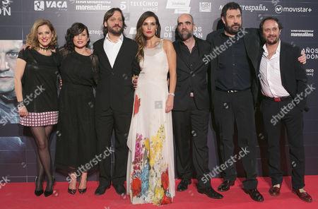 Maria Molins, Mariam Alvarez Rodrigo de la Serna, Patricia Vico, Luis Tosar, Aniel Calparsoro and Luis Callejo