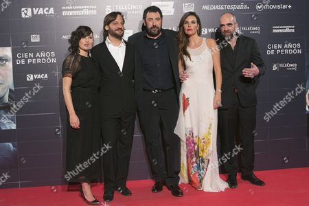 Mariam Alvarez Rodrigo de la Serna, Daniel Calparsoro, Patricia Vico and Luis Tosar