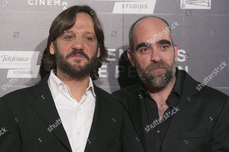 Rodrigo de la Serna and Luis Tosar