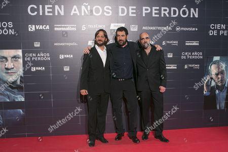 Rodrigo de la Serna, Daniel Calparsoro and Luis Tosar