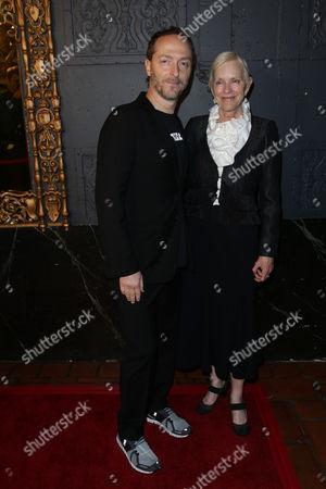 Alexandra Wallace and Emmanuel Lubezki