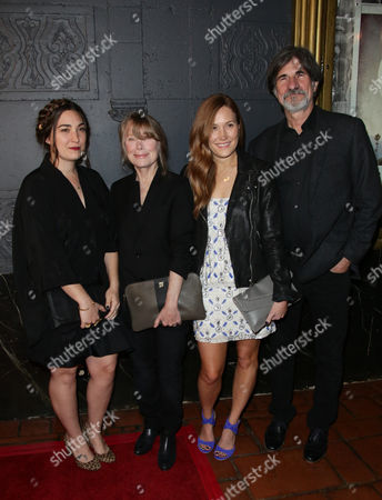 Sissy Spacek, Schuyler Fisk, Madison Fisk and Jack Fisk