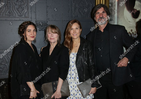 Stock Picture of Sissy Spacek, Schuyler Fisk, Madison Fisk and Jack Fisk