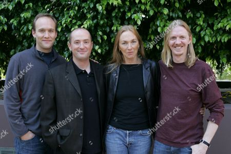 Stephen McFeely, Chris Markus, Ann Peacock and Director Andrew A