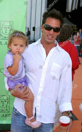 Dan Cortese and daughter India
