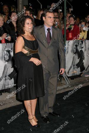 Joaquin Phoenix and sister Liberty Phoenix