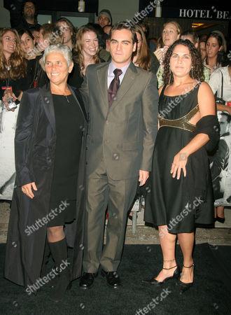 Arlyn Phoenix with Joaquin and Liberty Phoenix