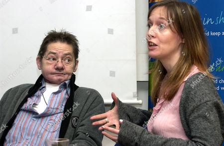Jack Wild and wife Caroline Harding