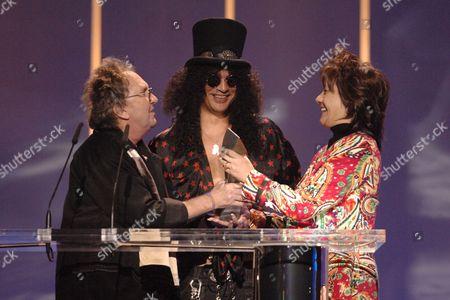 Mitch Mitchell, Slash and Janie Hendrix, half sister of Jimi Hendrix