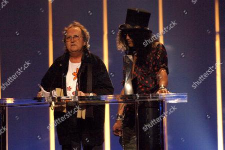 Mitch Mitchell and Slash