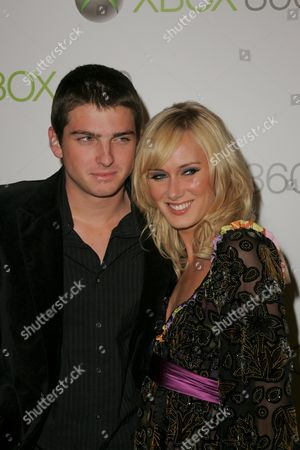 Kimberly Stewart and fiance Talan Torriero