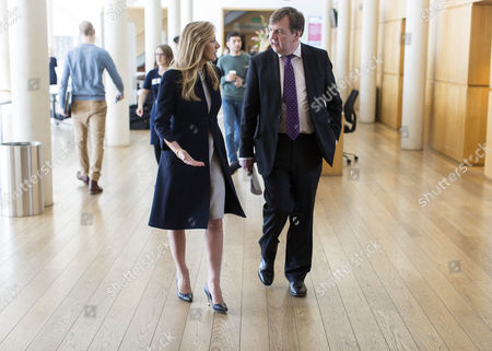 John Whittingdale MP, Secretary of State for Culture and Media, with Rona Fairhead, Chair of the BBC Trust