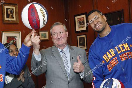 Mayor James Kenney & El Gato & Hawk