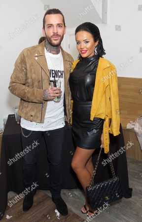 Stock Photo of Peter Wicks and Riah Read