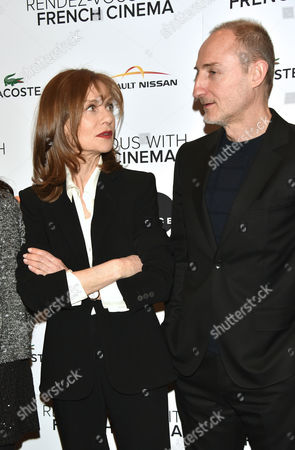 Isabelle Huppert and Guillaume Nicloux