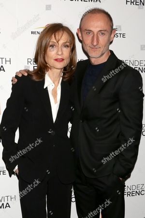 Isabelle Huppert and director Guillaume Nicloux