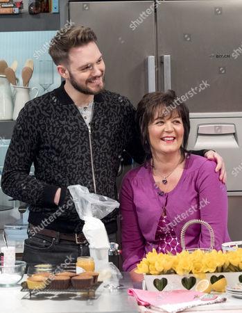 John Whaite is joined by his mum Linda