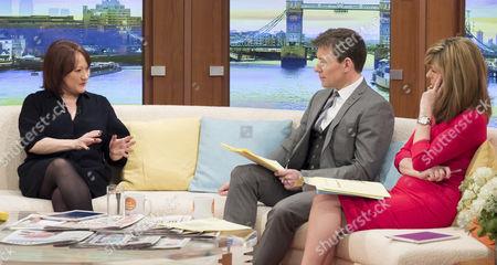 Kerry McCarthy with Ben Shephard and Kate Garraway