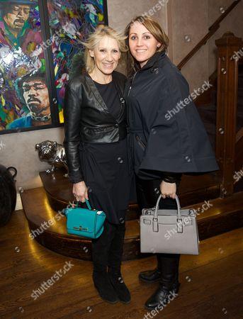 Ingrid Tarrant and Fia Tarrant