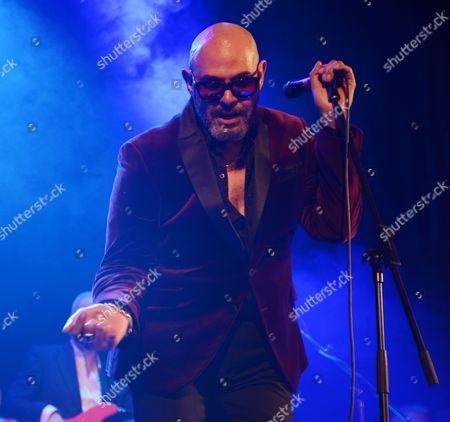 Editorial image of Barry Adamson concert, Islington Halls, London, Britain - 03 Mar 2016