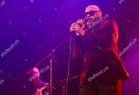 Editorial photo of Barry Adamson concert, Islington Halls, London, Britain - 03 Mar 2016