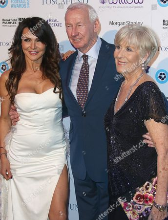 Lizzie Cundy, Bob Wilson and Megs Wilson