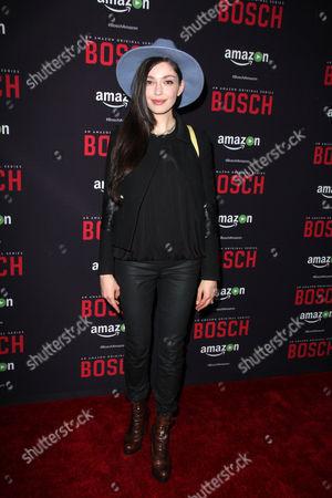 Editorial picture of 'Bosch' Season 2 Premiere, Los Angeles, America - 03 Mar 2016