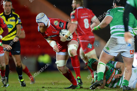 Editorial picture of Scarlets v Treviso - Guinness PRO12, Britain - 4 Mar 2016