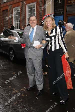 Stock Picture of Barry Humphries and Lizzie Spender