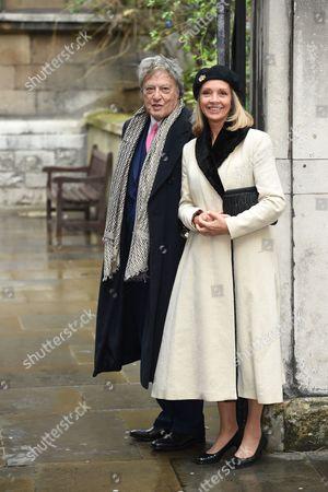 Tom Stoppard and Sabrina Guinness