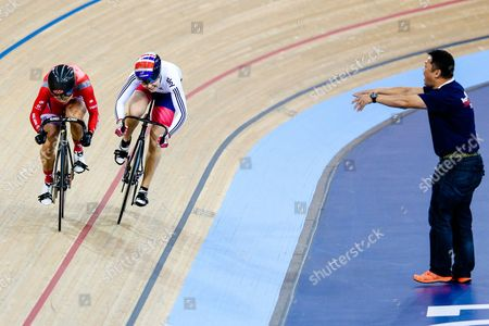 Editorial picture of 2016 UCI Track Cycling World Championships. London, Britain - 5 Mar 2016