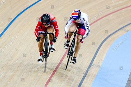 Editorial image of 2016 UCI Track Cycling World Championships. London, Britain - 5 Mar 2016