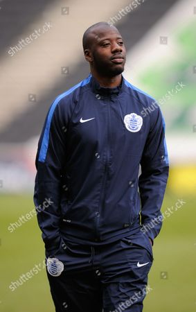 Samba Diakite of QPR during the SKY Bet Championship match between MK Dons and QPR played at Stadium MK, Milton Keynes on March 5th 2016
