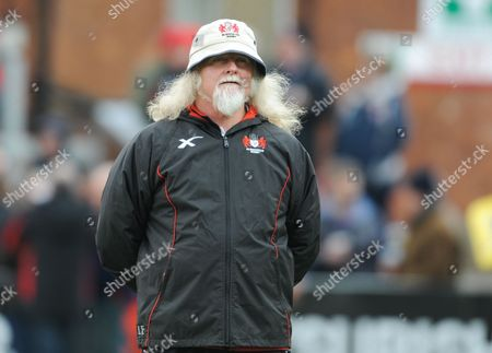 Gloucester Rugby's Head Coach Laurie Fisher.