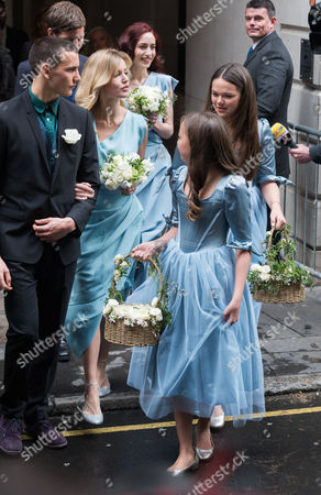 Georgia May Jagger and Elizabeth Jagger with Chloe Murdoch and Grace Murdoch