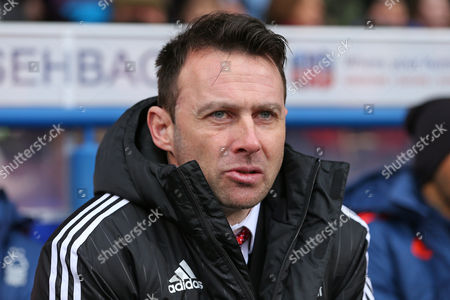 Manager of Nottingham Forest, Dougie Freedman - Ipswich Town v Nottingham Forest, Sky Bet Championship, Portman Road, Ipswich - 1 March 2016