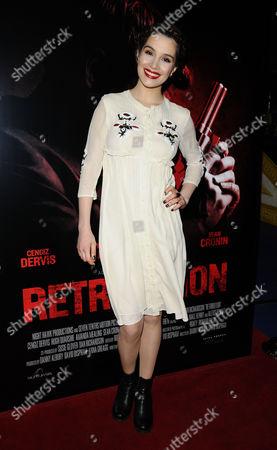 Editorial image of 'Retribution' gala film screening, London, Britain - 05 Mar 2016