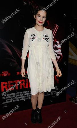 Editorial picture of 'Retribution' gala film screening, London, Britain - 05 Mar 2016