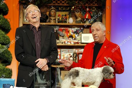 Paul and Buster received a Scouseology award each from BBC Radio Merseyside DJ Pete Price